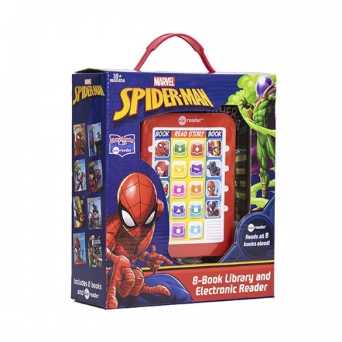 Marvel - Spider-man : Me Reader and 8 Book Library (Hardcover)