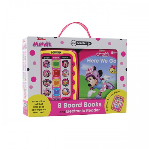 Disney Minnie Mouse Electronic Me Reader Jr. 8 Sound Book Library (Board book)