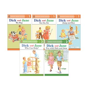 ★적립금3배★Penguin Young Readers 1,2 : Dick and Jane 리더스 5종 세트 (Paperback)(CD없음)