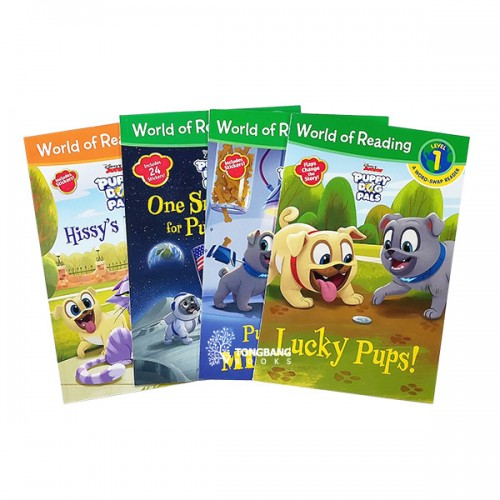 ★적립금 3배★World of Reading Level Pre1, 1단계 : Disney Puppy Dog Pals 시리즈 리더스북 5종 세트 (Paperback) (CD 없음)