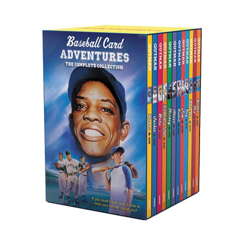 Baseball Card Adventures 12-Book Box Set (Paperback)(CD없음)