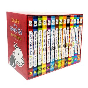 Diary of a Wimpy Kid Box of 1-14 Books (Paperback, 미국판)(CD없음)