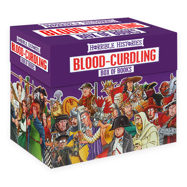 호러블 히스토리 : Horrible Histories Blood-Curdling Box of 20 Books (Paperback)(CD미포함)