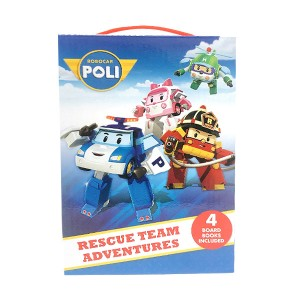 Robocar Poli : Rescue Team Adventures Box (Board book)