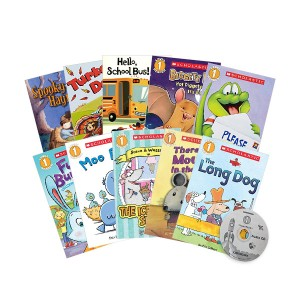 Scholastic Readers Level 1 Collection #2 (Paperback 10종 + Audio CD 1장)