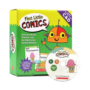 First Little Comics : Guided Reading Levels C & D (Book & CD)