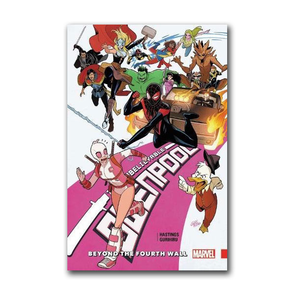 Unbelievable Gwenpool Vol. 4 : Beyond the Fourth Wall (Paperback)