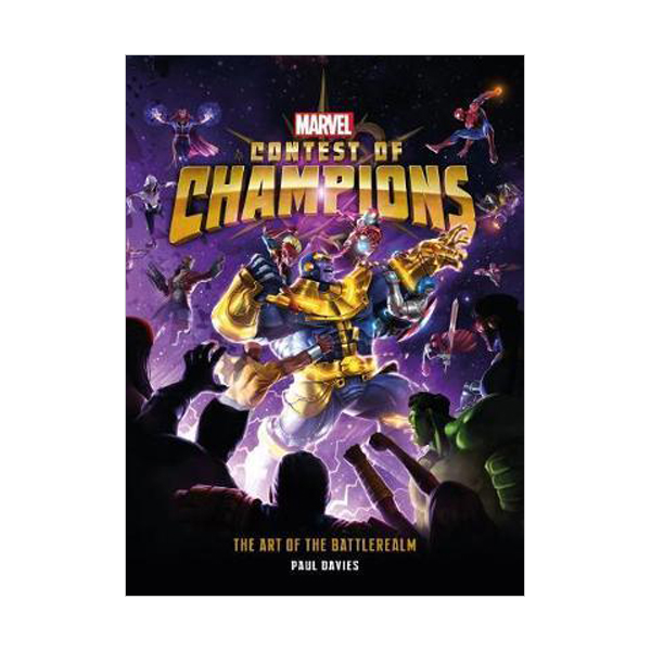 Marvel Contest of Champions : The Art of the Battlerealm (Hardcover)