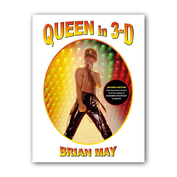 3-D Stereoscopic Book : Queen in 3-D Updated Edition (Hardcover)