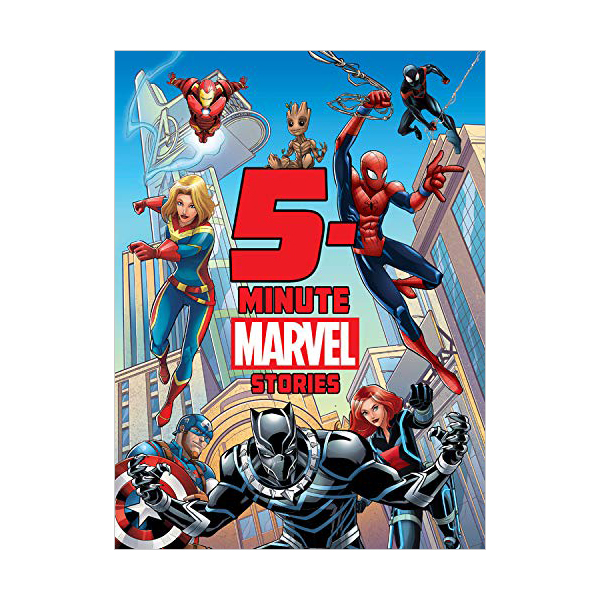5-Minute Stories : 5-Minute Marvel Stories (Hardcover)