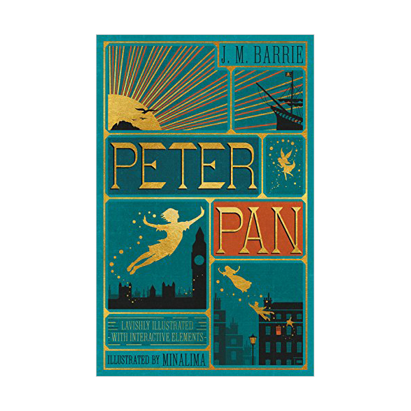 Peter Pan (Hardcover, Illustrated)