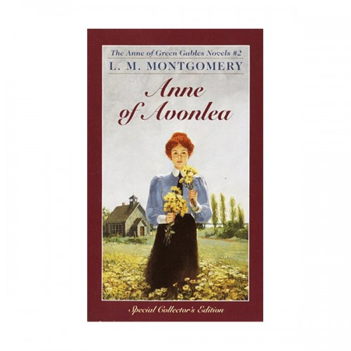 RL 8.6 : Anne of Green Gables Novels #2 : Anne of Avonlea (Mass Market Paperback)