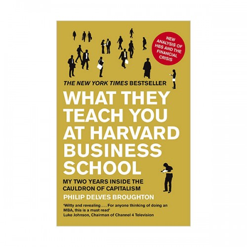 What They Teach You at Harvard Business School : My Two Years Inside the Cauldron of Capitalism (Paperback)