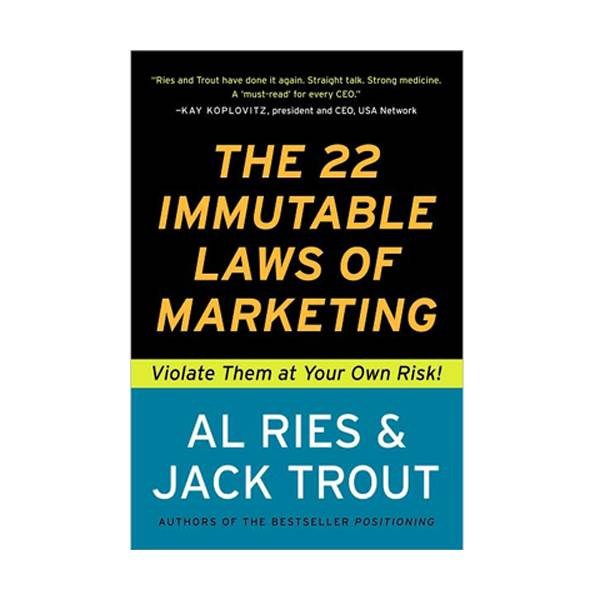 The 22 Immutable Laws of Marketing: Violate Them at Your Own Risk! (Paperback)
