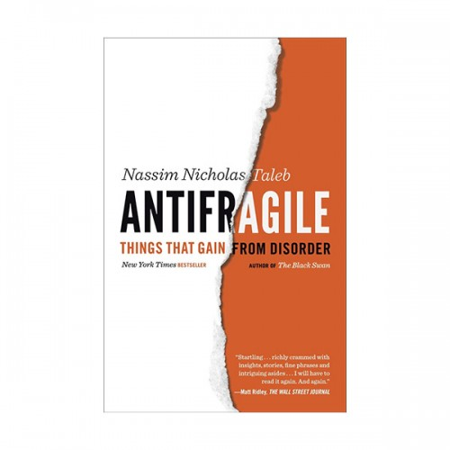 Antifragile : Things That Gain from Disorder (Paperback)