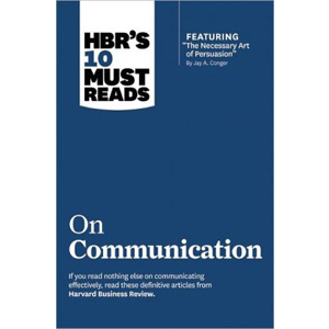 HBR's 10 Must Reads : on Communication (Paperback)
