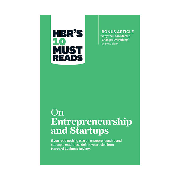 HBR's 10 Must Reads: on Entrepreneurship and Startups (Paperback)