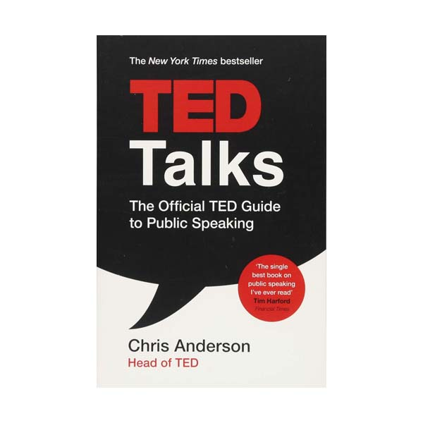 TED Talks: The official TED guide to public speaking  (Paperback, 영국판)