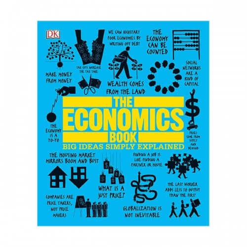 Big Ideas Simply Explained : The Economics Book (Hardcover)