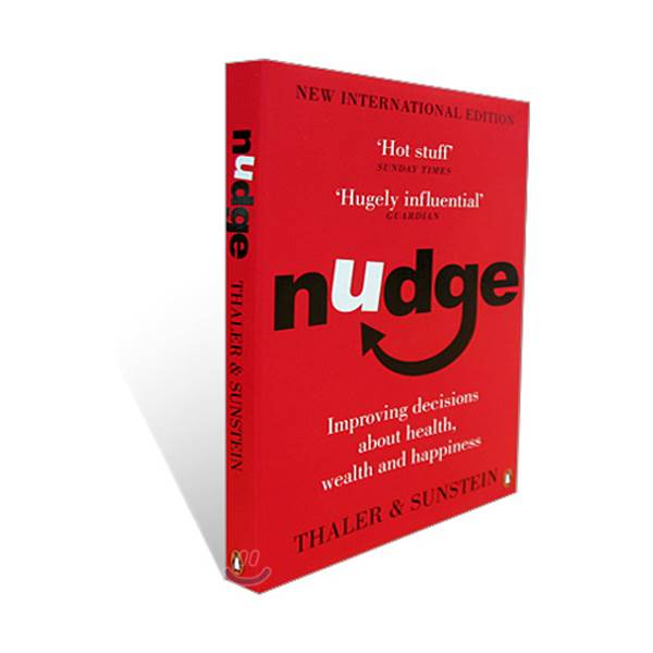 [2017 노벨경제학상 : 리처드 탈러] Nudge : Improving Decisions about Health, Wealth, and Happiness (Paperback/영국판)