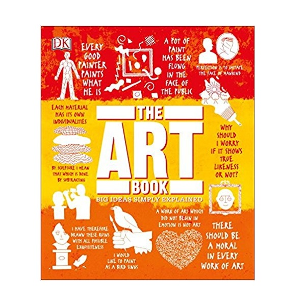 Big Ideas Simply Explained : The Art Book (Hardcover)