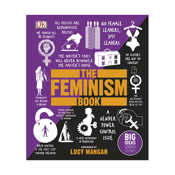 Big Ideas Simply Explained : The Feminism Book (Hardcover, 영국판)