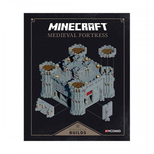 Minecraft : Exploded Builds : Medieval Fortress : An Official Minecraft Book from Mojang (Hardcover)