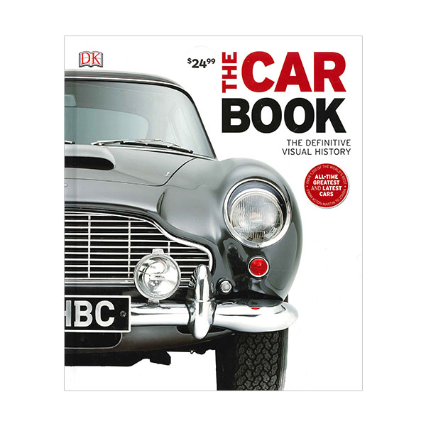 DK : The Car Book (Hardcover, 영국판)