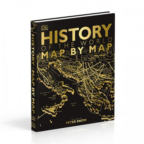 DK : History of the World Map by Map (Hardcover, 영국판)
