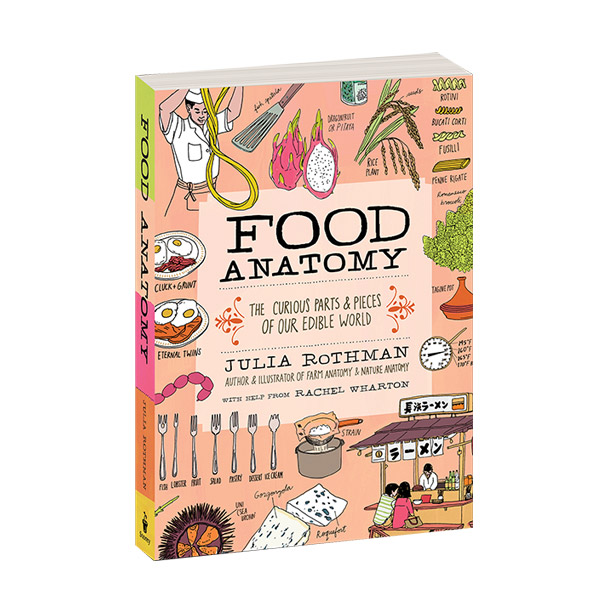 Food Anatomy : The Curious Parts & Pieces of Our Edible World (Paperback)
