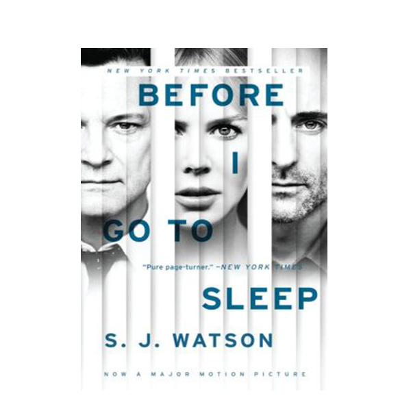 Before I Go to Sleep (Mass Market Paperback, Movie Tie-In)