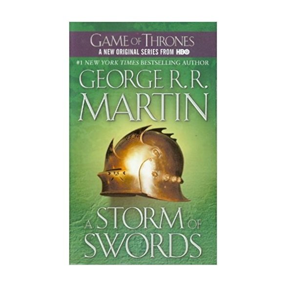RL 5.2 : A Song of Ice and Fire #3 : A Storm of Swords (Mass Market Paperback)