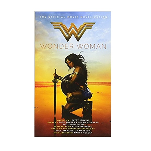 Wonder Woman : The Official Movie Novelization (Mass Market Paperback)
