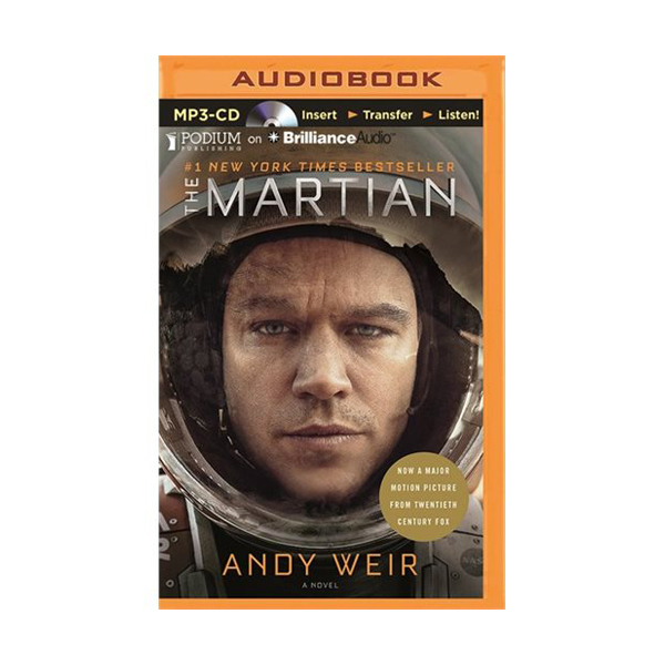 The Martian (Audio book -MP3 CD)