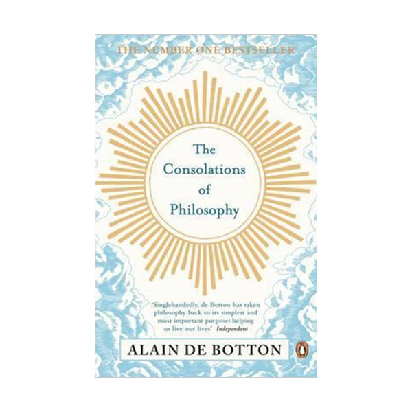 Alain de Botton : The Consolations of Philosophy (Paperback, 영국판)