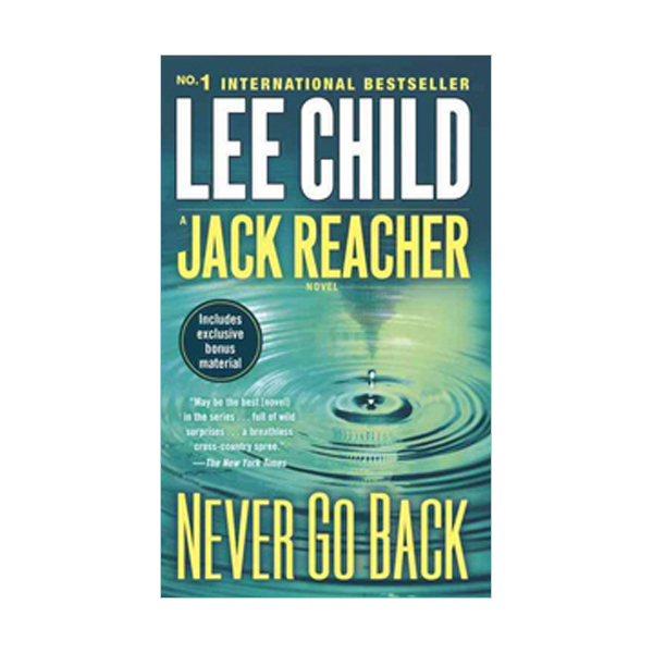 Jack Reacher #18 : Never Go Back (Mass Market Paperback)