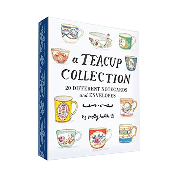 A Teacup Collection : 20 Different Notecards and Envelopes (Hardcover)
