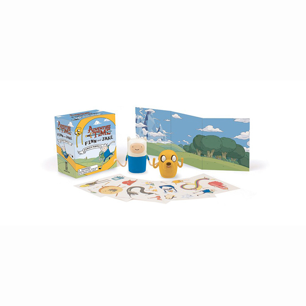 Adventure Time: Finn and Jake Finger Puppets (Miniature Editions)