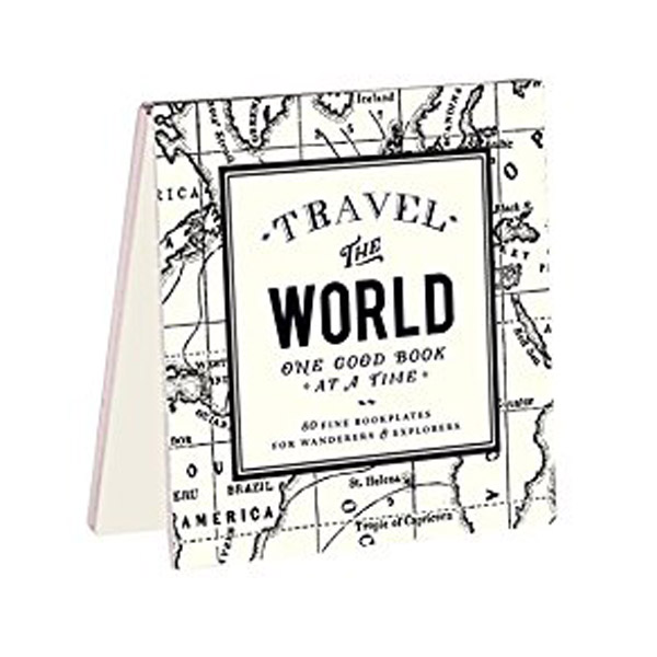 Alice Scott Vintage Prints Travel the World Bookplates (Cards)