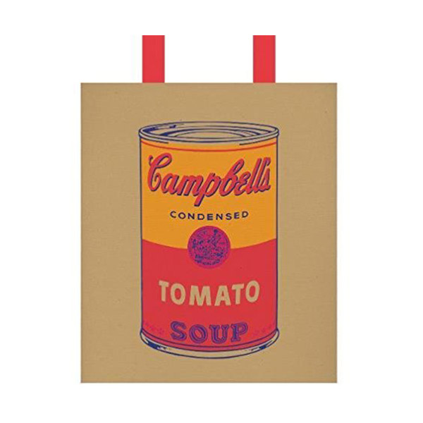 ★키즈코믹콘★Andy Warhol Campbell's Soup Tote Bag