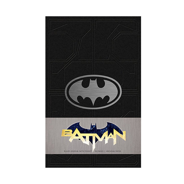 Batman Hardcover Ruled Journal (Hardcover)