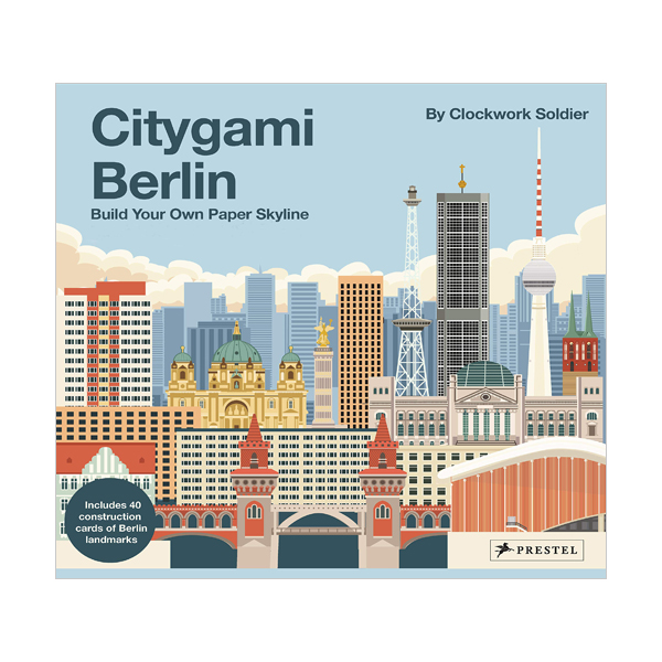 Citygami Berlin : Build Your Own Paper Skyline (3D model)