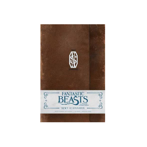 Fantastic Beasts and Where to Find Them : Newt Scamander Hardcover Ruled Journal (Hardcover)