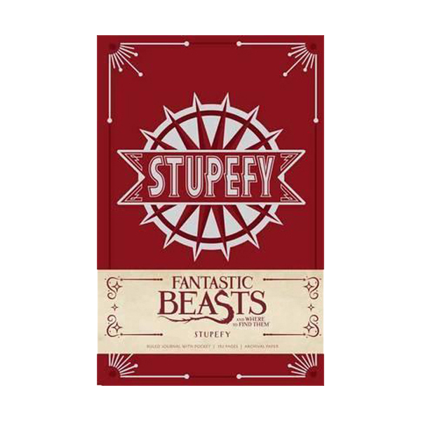 Fantastic Beasts and Where to Find Them : Stupefy Hardcover Ruled Journal (Hardcover)