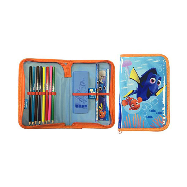 ★키즈코믹콘★Finding Dory : Amazing Stationery Set (Pencil Case)
