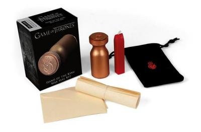Game of Thrones : Hand of the King Wax Seal Kit (Paperback)