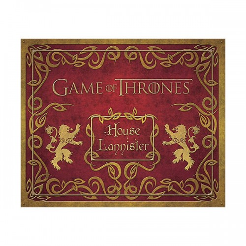 Game of Thrones: House Lannister Deluxe Stationery Set (Hardcover)