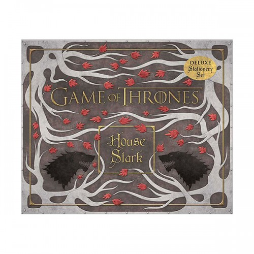 Game of Thrones: House Stark Deluxe Stationery Set (Hardcover)