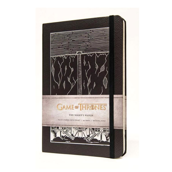Game of Thrones: The Night's Watch Hardcover Ruled Journal (Hardcover)