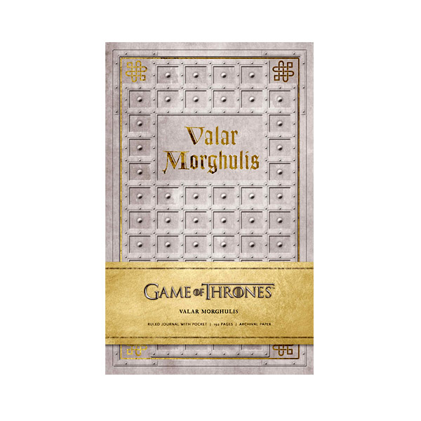 Game of Thrones: Valar Morghulis Hardcover Ruled Journal (Hardcover)